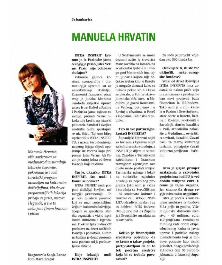 Manuela Hrvatin Istra Inspirit 2012